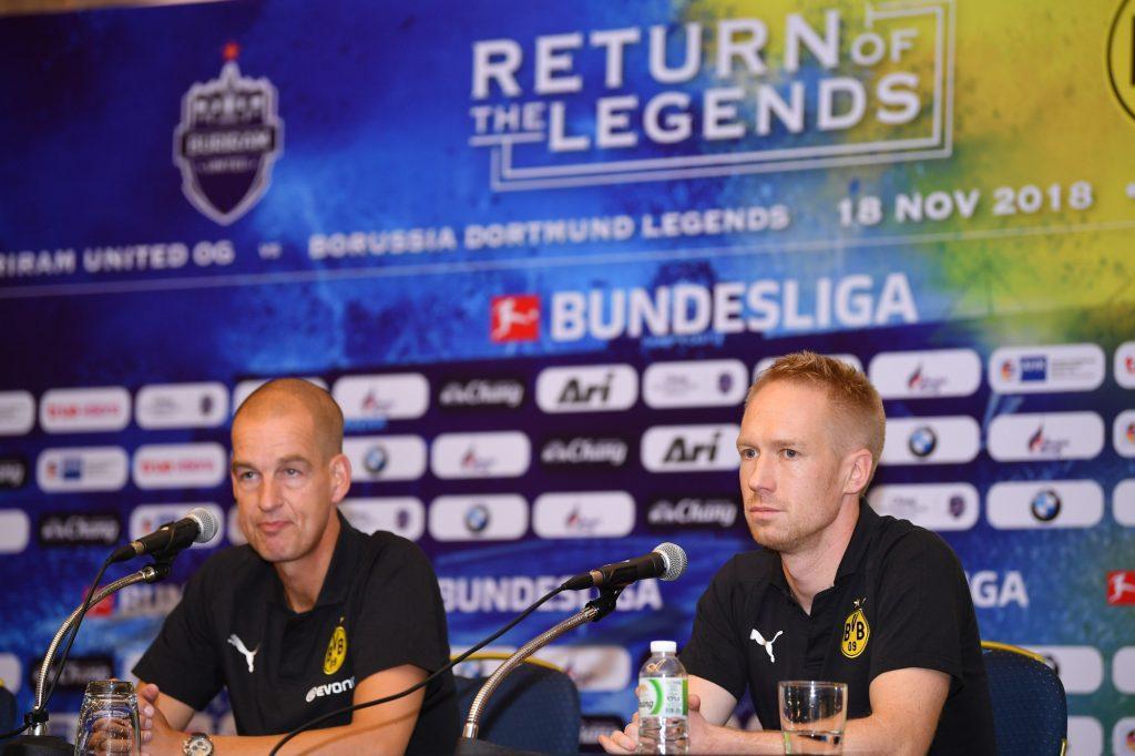 """บุรีรัมย์ ยูไนเต็ด จับมือ โบรุสเซีย ดอร์ทมุนด์ เดินหน้าพัฒนานักเตะเยาวชน เตรียมระเบิดศึกฟุตบอลนัดพิเศษ """"Return of The Legends"""""""