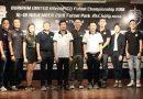 """จับฉลากแบ่งสาย""""87ทีม""""ฟุตซอลตัวแทน ร่วมแถลงข่าว Buriram HitechPICO Futsal Championship 2018"""