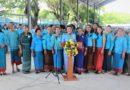 รวมพลังองค์กรสตรีอำเภอเมืองบุรีรัมย์ รวมใจถวายไท้องค์ราชินี ประจำปี 2562