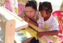 มูลนิธิคุณพุ่ม มอบทุนการศึกษาสำหรับเด็กออทิสติกและเด็กพิการ จังหวัดบุรีรัมย์